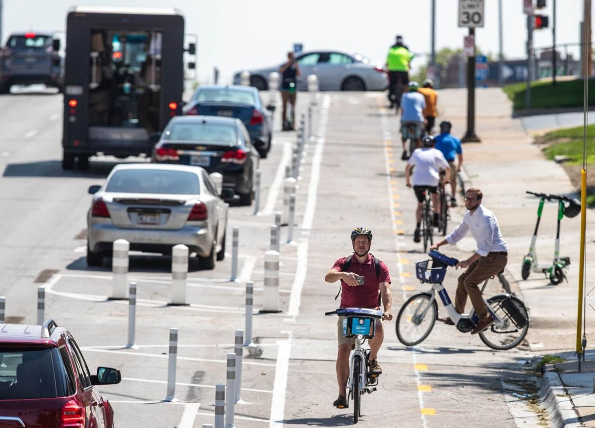 Omaha's First Protected Bikeway Opens!